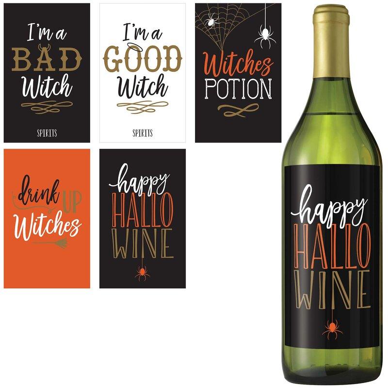 etichette bottiglie